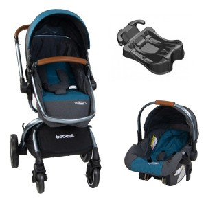 Bebesit Coche Travel System Delux 360°