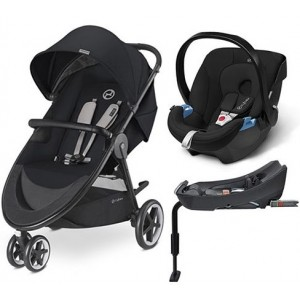 Cybex Coche Travel Sistem Agis 3 + Aton Basic + Base