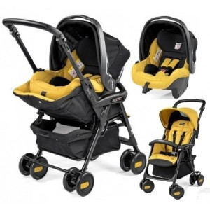 Peg-Perego Coche Travel System Aria Shopper